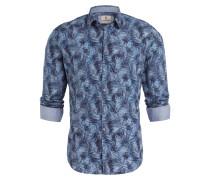 Hemd OLLY Slim-Fit - grau/ blau/ marine