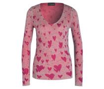 Pullover mit Cashmere-Anteil - pink/ rosa