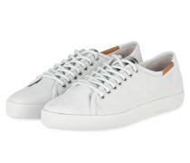 Schmale Sneakers - weiss