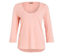 Shirt mit 3/4-Arm - rosé