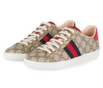 Sneaker GG SUPREME - BEIGE EBONY