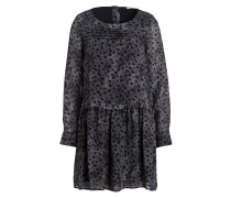 Kleid - schwarz/ grau