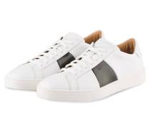Sneaker GLORIA - weiss/ oliv