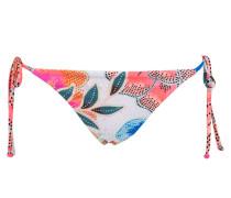 Bikini-Hose ARCADIA - weiss/ pink/ blau