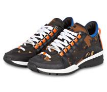 Sneaker 551 - schwarz/ braun/ orange
