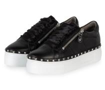 Plateau-Sneaker NANO - SCHWARZ