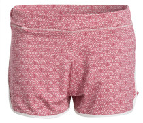 Schlafshorts BELLA LEAVES - pink