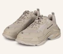 Plateau-Sneaker TRIPLE S - BEIGE