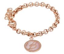 Armband ALBA ROUND - roségold/ rosa