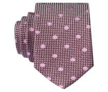 Krawatte - magenta/ rosé