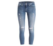 Destroyed-Jeans - hellblau