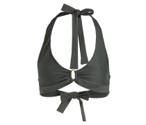 Neckholder-Bikini-Top MOONRISE - khaki