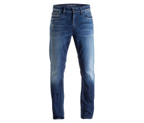 Jeans Slim Straight-Fit - 918 milano blue