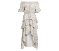 Off-Shoulder-Kleid RENCO mit Volantbesatz