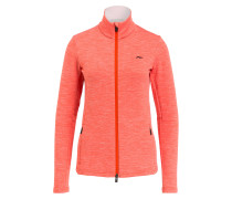Powerstretch-Jacke CALIENTA - orange
