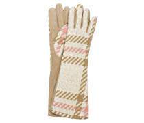 Handschuhe im Materialmix