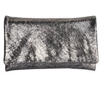 Clutch - silber metallic