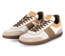 Sneaker - GRAU/ ECRU/ HELLBRAUN