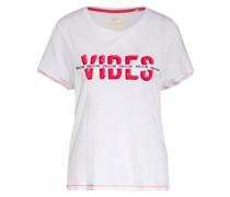T-Shirt FLOOR mit Paillettenbesatz