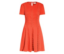 Kleid TAVI mit Spitzenbesatz
