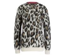 Pullover - schwarz/ weiss/ braun