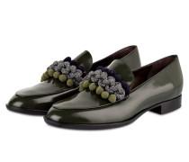 Loafer - oliv