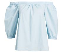 Offshoulder-Bluse - blau