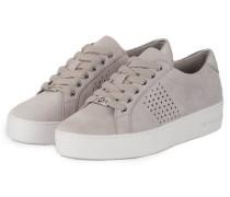 Plateau-Sneaker POPPY - aluminium