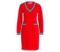 Kleid - rot/ schwarz/ weiss