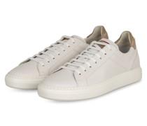 Sneaker - WEISS/ CAMEL