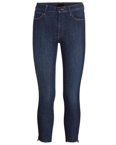 7/8-Jeans mit Galonstreifen
