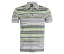 Jersey-Poloshirt PADDY3 - hellgrün/ grau
