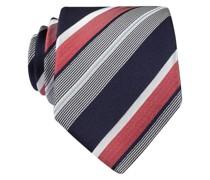 Krawatte - marine/ weiss/ rot