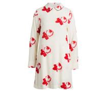 Kleid HARLEY - creme/ rot