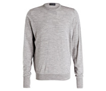 Pullover MARCUS - hellgrau meliert