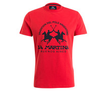 T-Shirt BARRET - rot