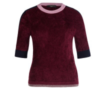 Pullover - bordeaux/ navy