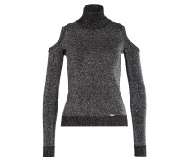 Pullover - silber