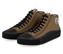 Hightop-Sneaker LISSEX - OLIV/ SCHWARZ