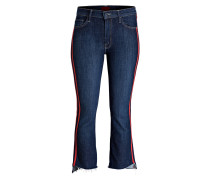 Cropped-Jeans SPEED RACER - blau