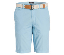 Chino-Bermudas BARI Regular-Fit - blau