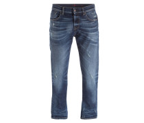 Destroyed-Jeans CHAD Slim-Straight-Fit