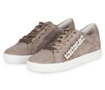 Sneaker TOWN mit Schmucksteinbesatz - grau