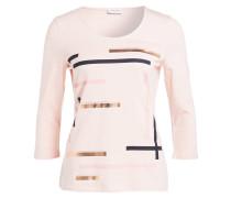 Shirt mit 3/4-Arm - rosa