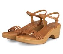 Sandaletten ILOBI - HELLBRAUN