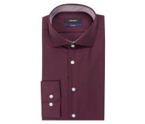 Hemd Tailored-Fit - bordeaux