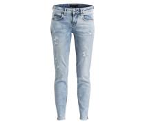 Destroyed-Jeans MOVIE - hellblau