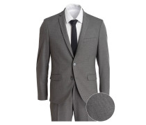 Jersey-Anzug Slim-Fit - grau