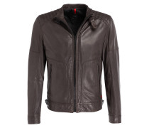 Lederjacke SHIELD - braun