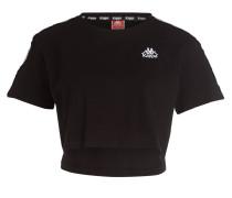 Cropped-Shirt APUA - schwarz